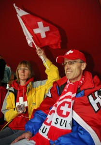 Sehbehinderte bwz. blinde Fans in Österreich und der Schweiz