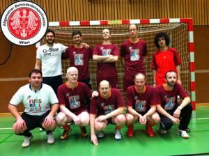 1. Sehbehinderten Fußballteam Österreich