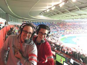 Wolfgang Slavik und Sebastian Aster kommentieren Wales - Österreich